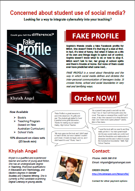 Fake Profile Promo